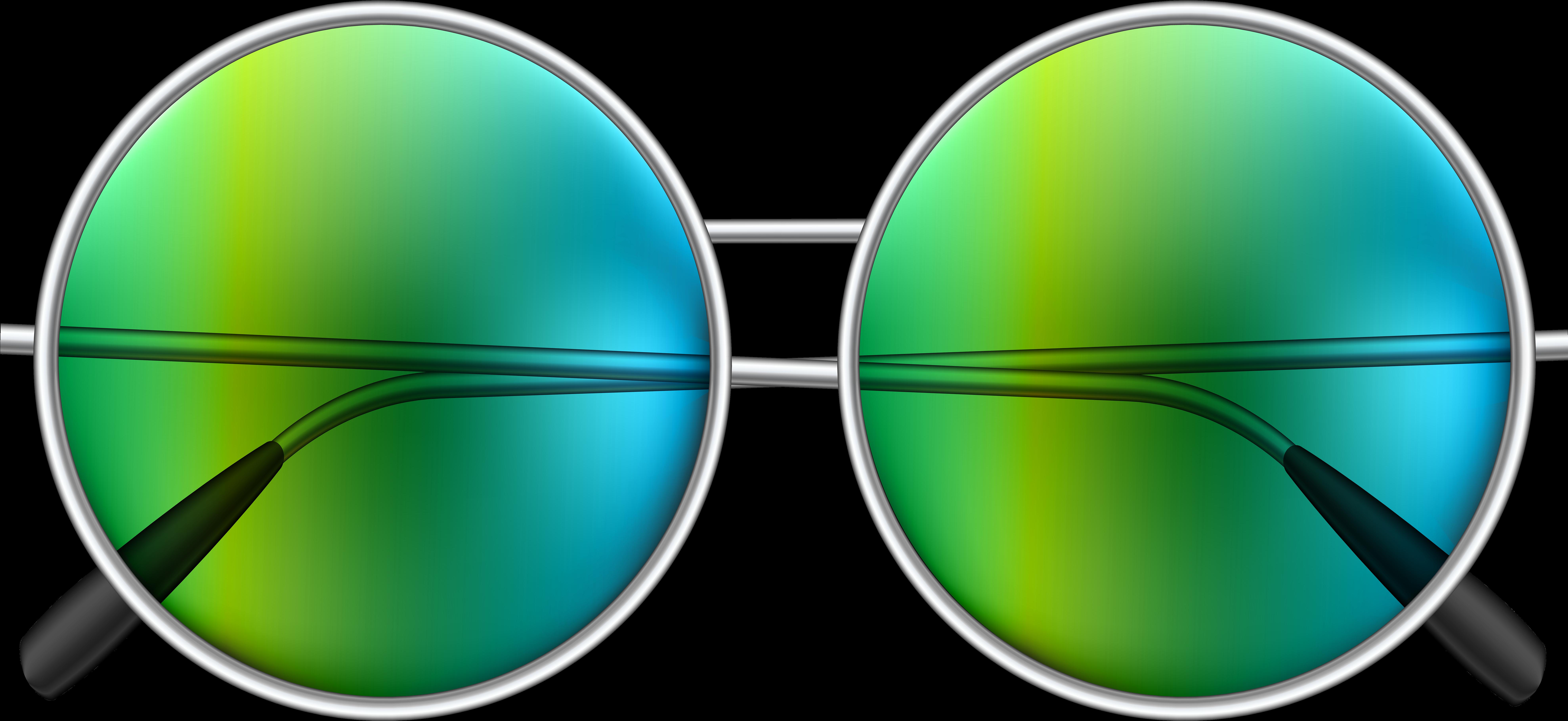 Hippie Sunglasses Png Clipart.