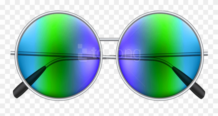 Free Png Download Round Sunglasses Clipart Png Photo.