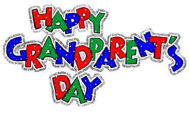 Grandparents day 2015 september clipart.