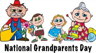 Free Christian Grandparents Day Clipart.