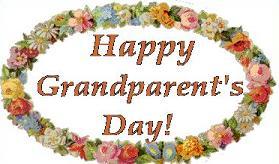 National Grandparents Day Clip Art.