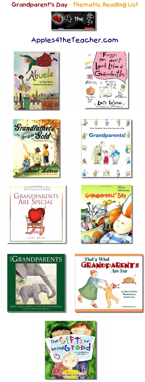 40 Best images about Grandparents' Day on Pinterest.