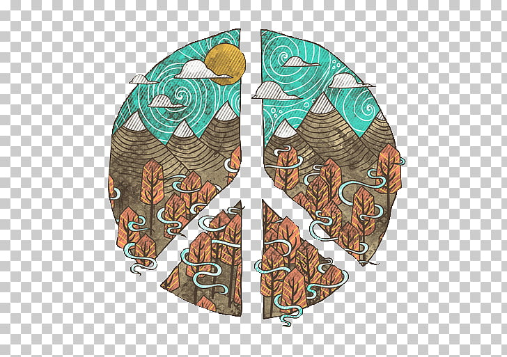 Hippie Graphic design T.