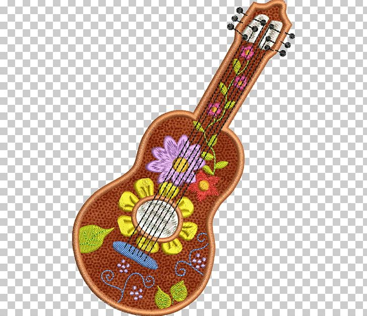 Ukulele Guitar Friede PNG, Clipart, Blume, Embroidery.