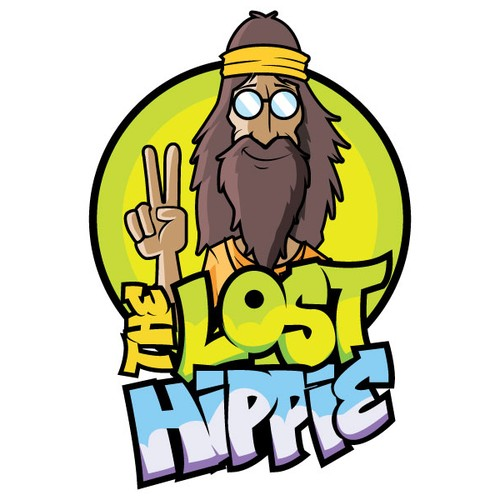 Create the next logo for The Lost Hippie.