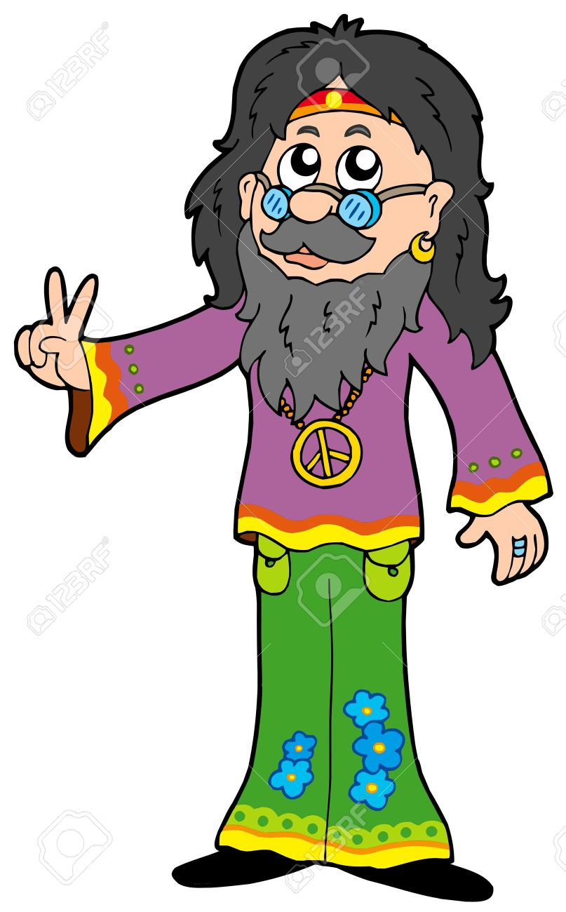 Clipart Hippies.