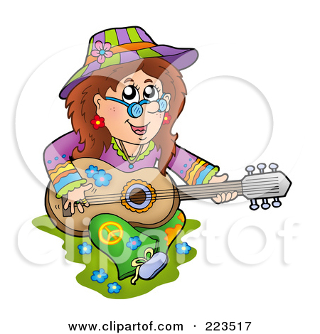 Royalty Free Stock Illustrations of Hippies by visekart Page 1.