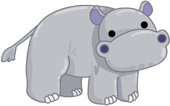 Hippo Clip Art & Hippo Clip Art Clip Art Images.