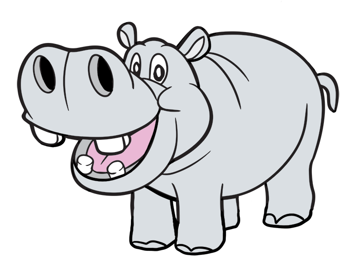 Free to Use & Public Domain Hippopotamus Clip Art.