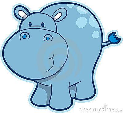 Hippopotamus Clipart.