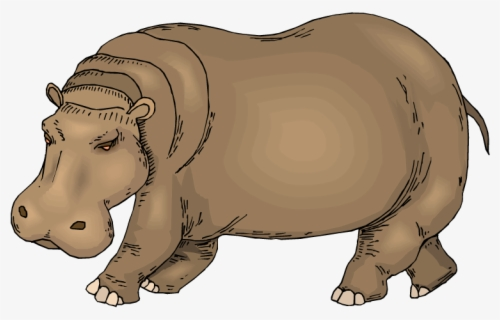 Free Hippopotamus Clip Art with No Background.