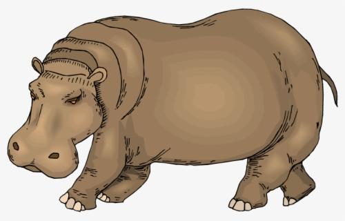 Free Hippopotamus Clip Art with No Background.
