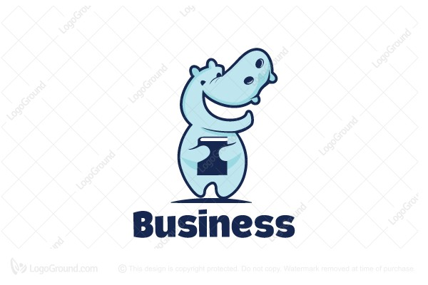 Exclusive Logo 113706, Student Hippo Logo.