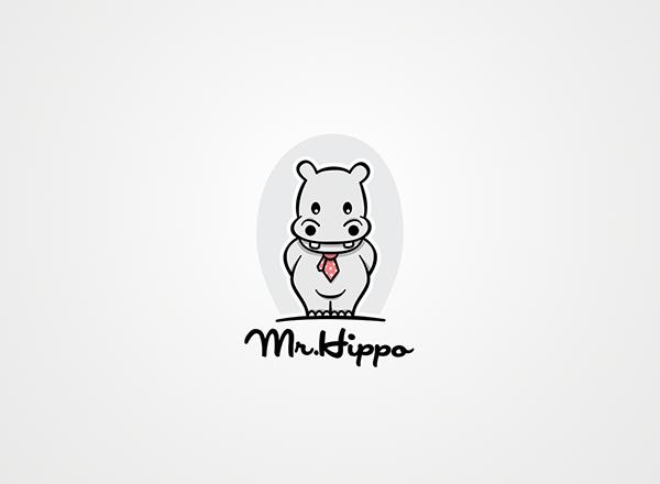 Logo Design: Hippos.
