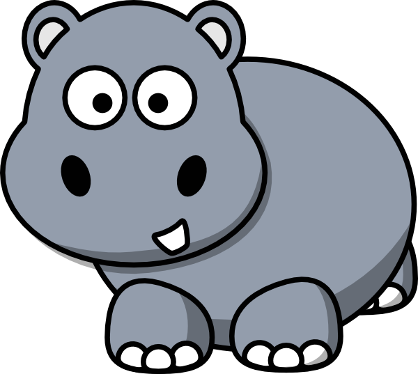 Hippo Online Clipart.