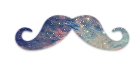 Hipster Galaxy Clipart (9+).