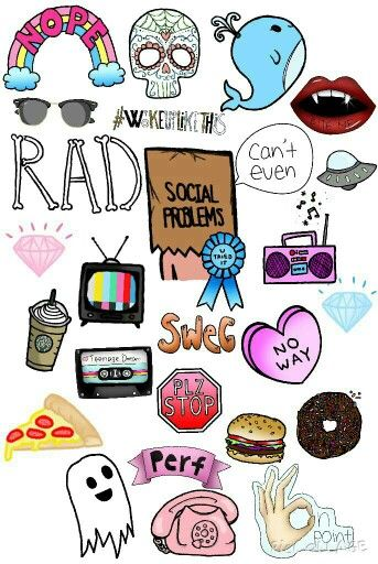hipster tumblr clipart