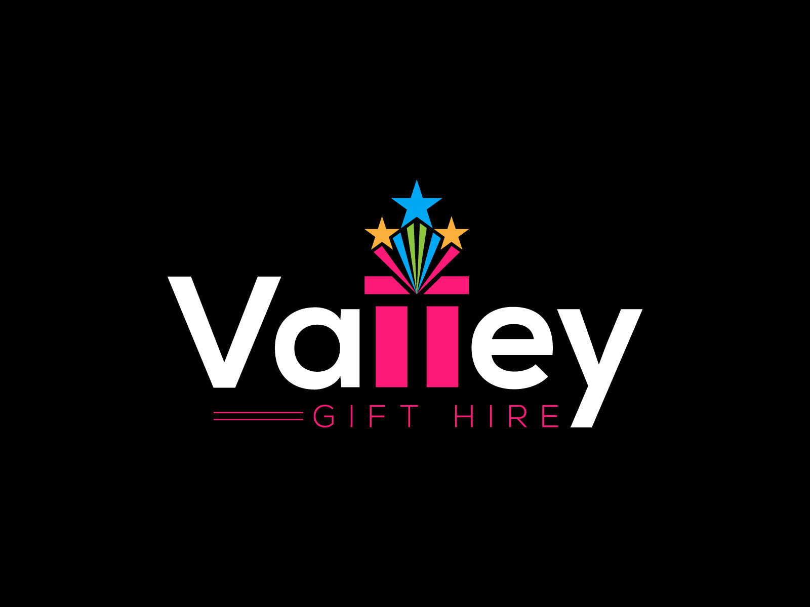 Logo design for Valley Gift Hire by MD Ebrahim Bhuiyan on.