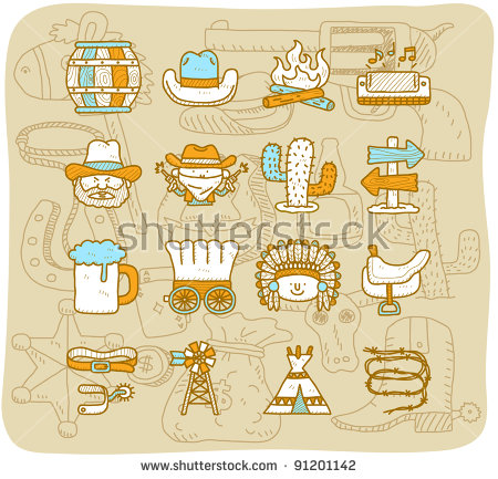 Covered Wagons Stock Images, Royalty.