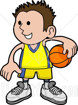 Hip basketball clipart.