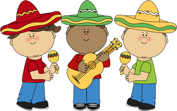 mexican clip art of kids.