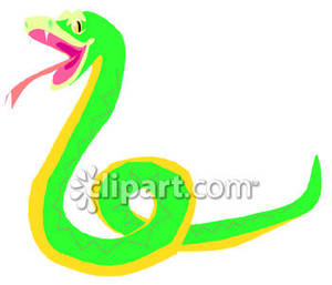 Hissing Green Snake.