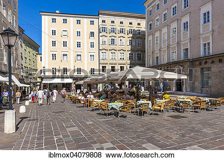 Pictures of Old market square with market fountain or Florian.