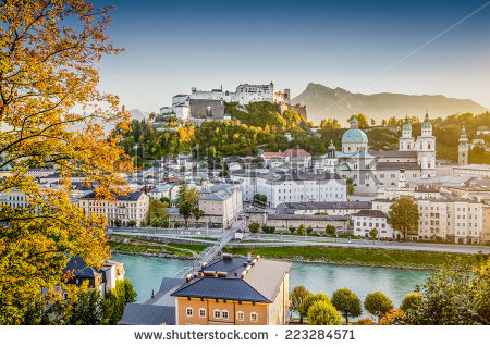 Salzburg Austria Stock Photos, Royalty.