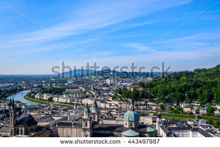 Salzach Stock Photos, Royalty.
