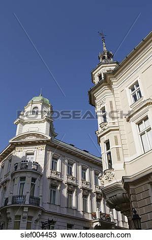 Stock Photo of Austria, Carinthia, Klagenfurt, historic city.