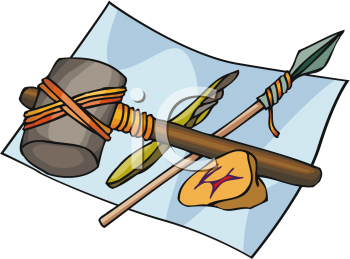Clipart of Historic Tools.