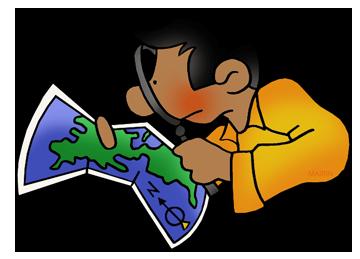 Free Historic Maps Clip Art by Phillip Martin.