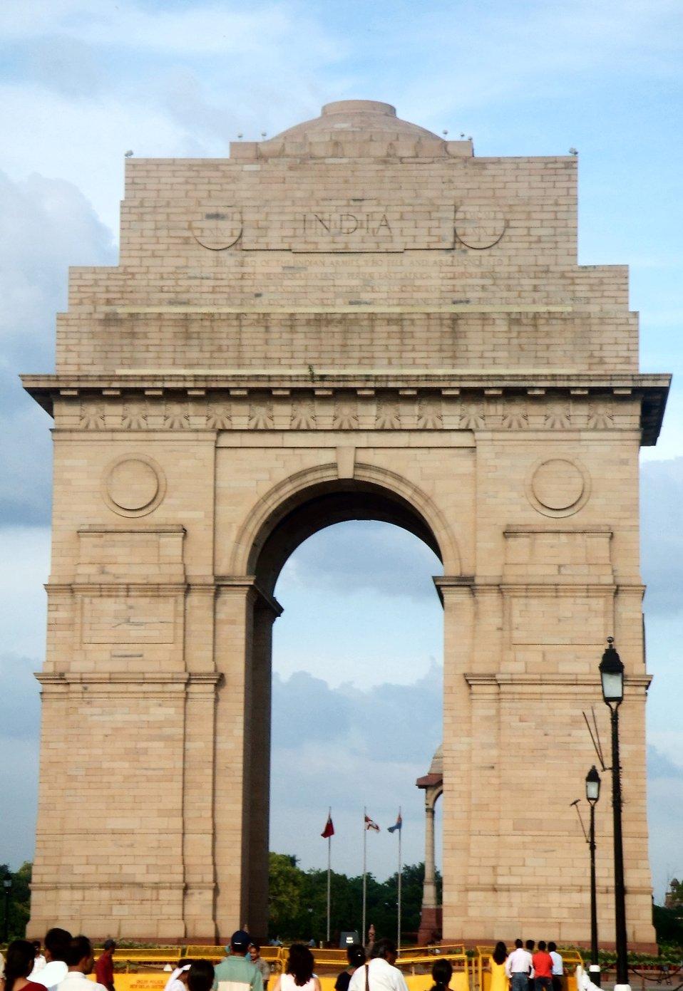 India Gate.