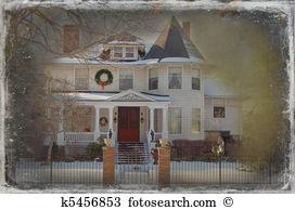 Historic home Stock Illustrations. 654 historic home clip art.