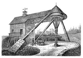 19th Century Horse Mill.