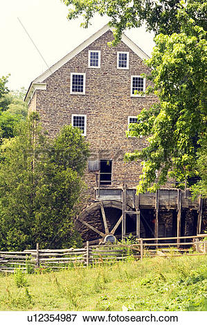 Picture of Roblin's Mill, Grist Mill, Black Creek Pioneer Village.