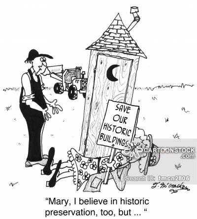 Historic Preservation Cartoons and Comics.
