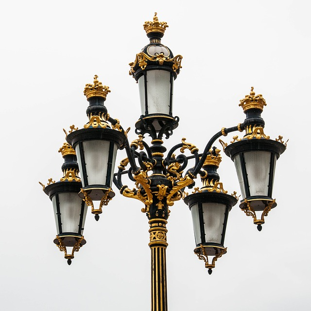 Free photo Lantern Historic Street Lighting Light Street Lamp.