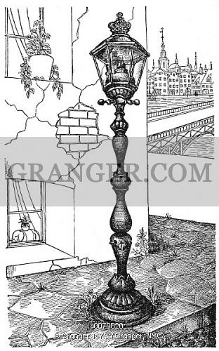 Image of ANDERSEN: OLD STREET LAMP..