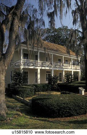 Stock Photography of Alabama, Eufaula, AL, The Tavern in Seth Lore.