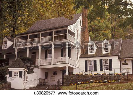 Picture of Charlottesville, Virginia, tavern, Historic Michie.