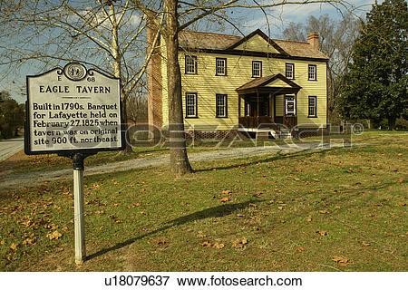 Picture of Halifax, NC, North Carolina, Historic Halifax State.
