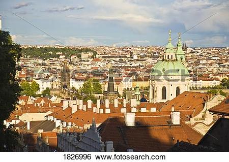 Stock Images of Prague Castle, Historical Center of Prague, Czech.