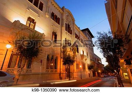 Stock Photography of Parlament, Former Circle Mallorquin, XIX.