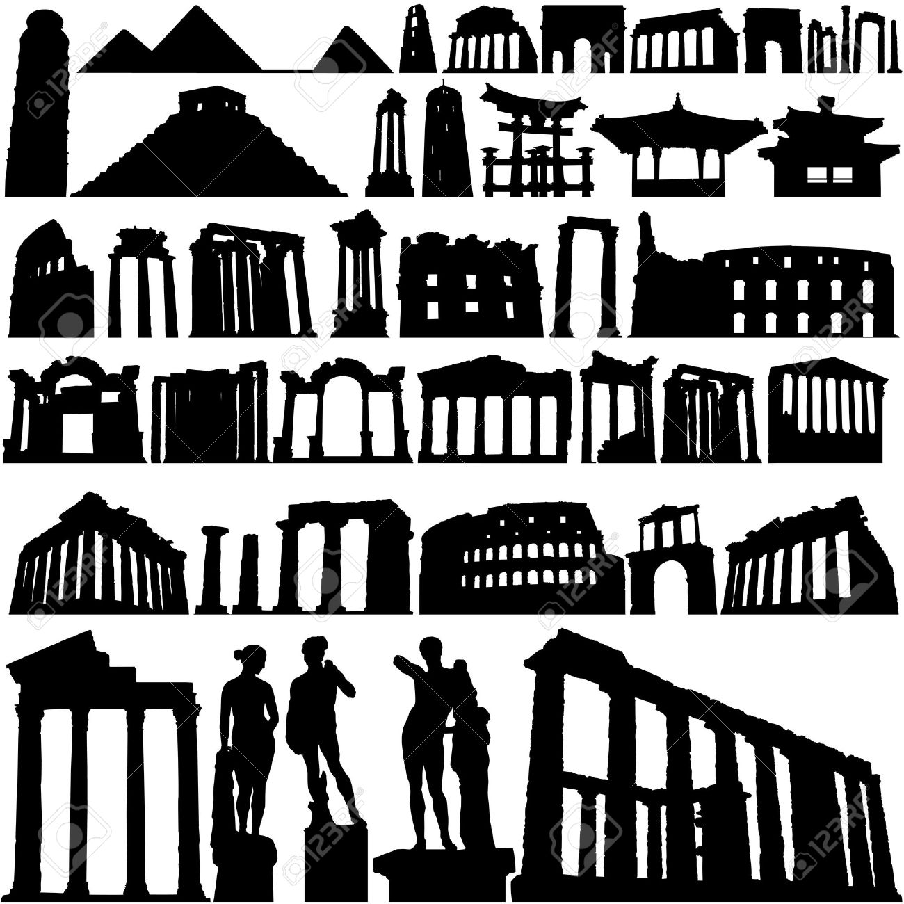 Historical Building And City Royalty Free Cliparts, Vectors, And.
