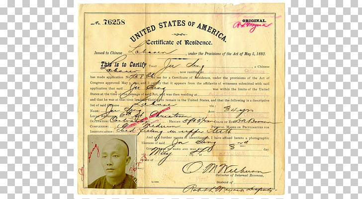 California Historical Society History Chinese Exclusion Act.