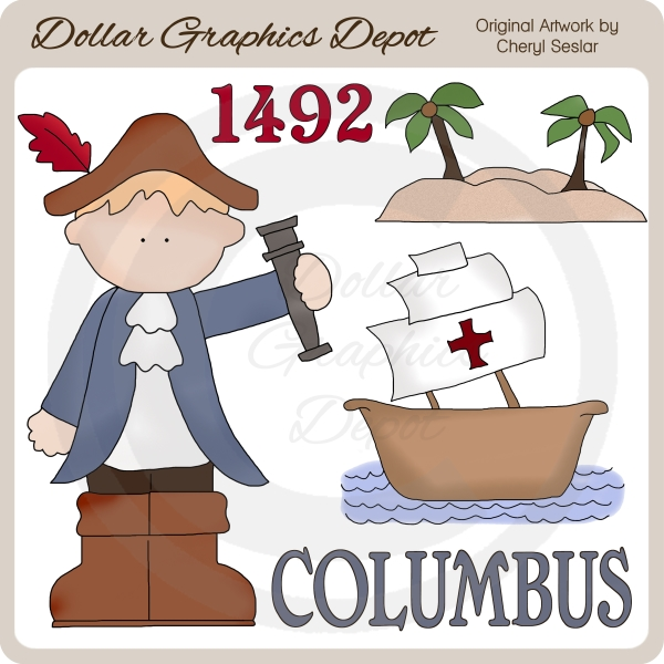 Historical Figures Clip Art : Dollar Graphics Depot.