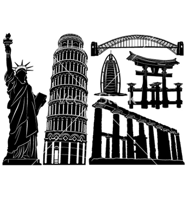 Architecture and historical buildings vector by jackrust.