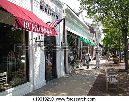 Stock Photography of Southampton, NY, New York, Long Island.
