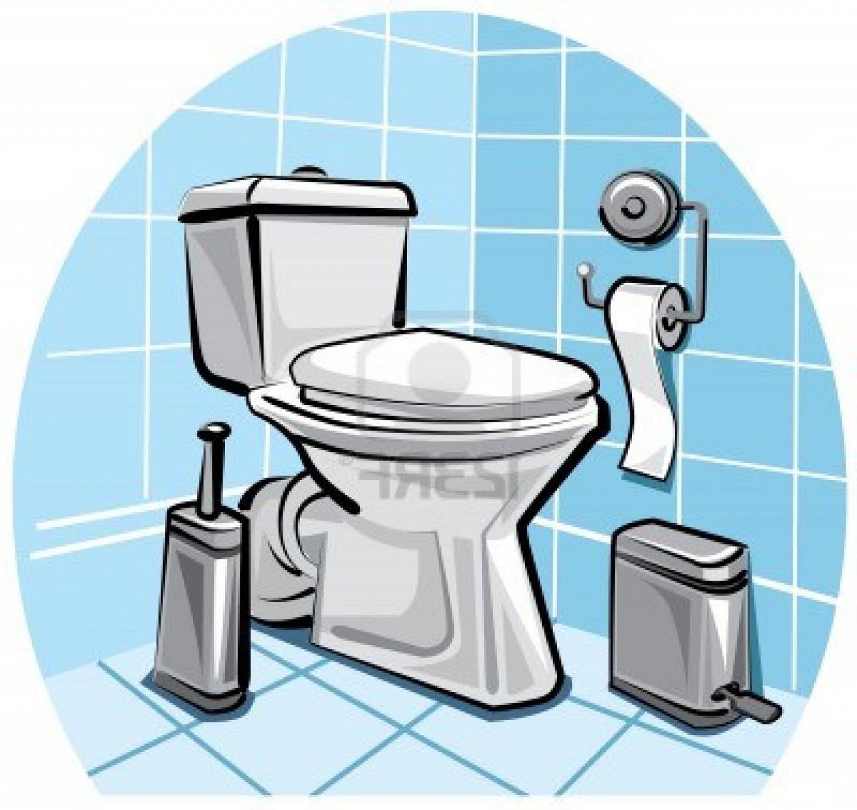 Clean Bathroom Clip Art.